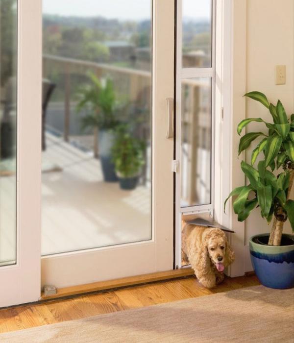Home Vinyl Patio Pet Doors